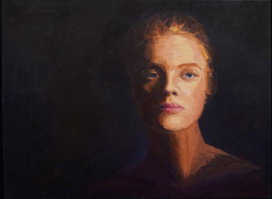 Desdemaona, 18 x 24 inches, oil on canvas