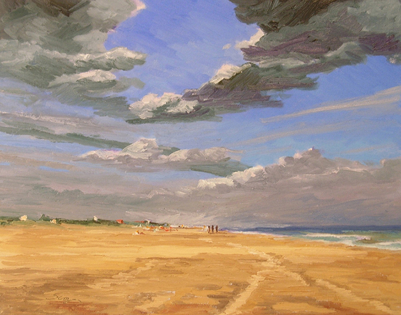 Long View, 26 x 20 inches, oil on canvas, 2008