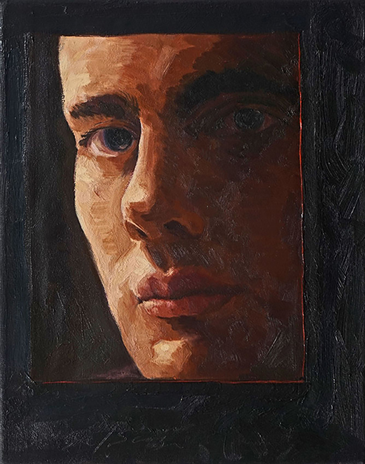 Vincent, 14 x 11 inches, oil on canvas, 2011